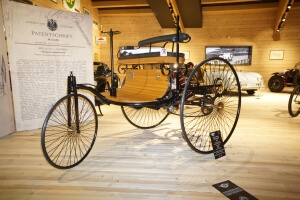 Benz Patentwagen in Hochgurgl/Motorcycle Museum