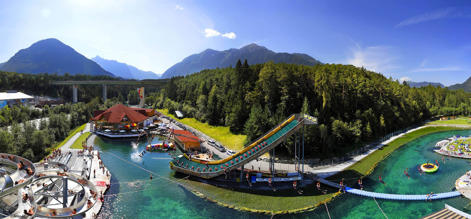 The Adventure Park in Upper Tyrol owes its name to the 47th line of latitude. Here children and adults can find action without end.